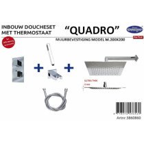 Best-Design New Quadro inbouw doucheset - 3860860