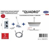 Best-Design New Quadro inbouw doucheset - 3860870