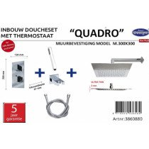 Best-Design New Quadro inbouw doucheset - 3860880