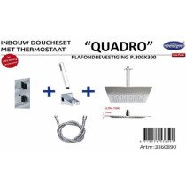 Best-Design New Quadro inbouw doucheset - 3860890