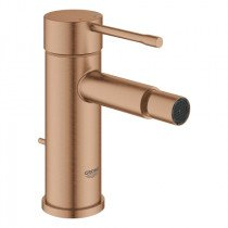 Grohe Essence New 1-gats bidetkraan S-size met waste (met trekstang aan de achterkant) brushed warm sunset - 32935DL1