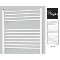 Plieger Palermo designradiator horizontaal 1111x600mm mat wit 605W - 7252434