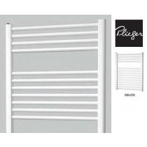 Plieger Palermo designradiator horizontaal 688x550mm mat wit 348W - 7252433