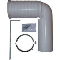 Laufen afvoerbocht verstelbaar 220-350mm - 8990250000001