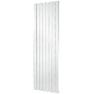 Plieger Cavallino Retto designradiator verticaal enkel middenaansluiting 1800x602mm wit 1205W - 7252982