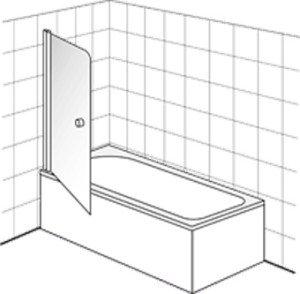 Villeroy en Boch Frame To Frame badwand 1 delig - DW0070LOG170V61