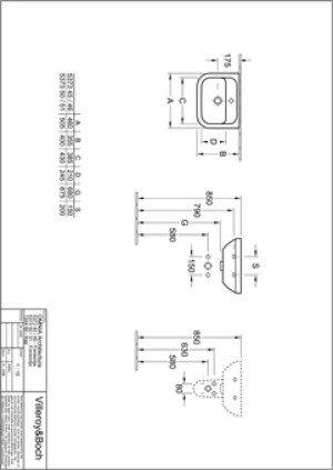 Villeroy en Boch Omnia Architectura fontein compact - 53734601