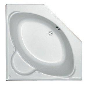 Plieger Contour compact hoekbad acryl vijfhoekig - 940900