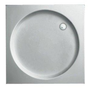Plieger Luxury kunststof douchebak acryl vierkant - 940836