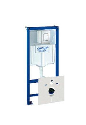 Grohe Rapid SL WC-element incl. bedieningsplaat Skate Cosmopolitan - 38775001