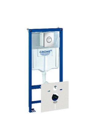 Grohe Rapid SL WC-element incl. bedieningsplaat Nova Cosmopolitan - 38813001