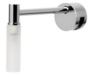 Plieger verlichtingsarmatuur m. klemvoorziening m. cilindrisch glas wit - 4350358