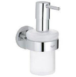 Grohe Essentials zeepdispenser m. houder  chroom - 40448001