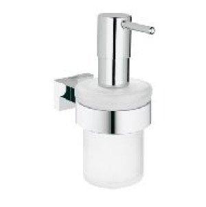 Grohe Essentials Cube zeepdispenser m. houder  chroom - 40756001