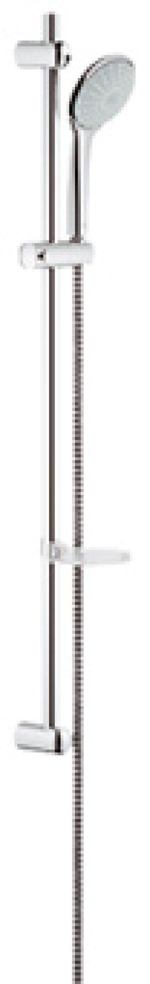 Grohe Euphoria glijstangset m. handdouche Mono 90cm - 27267001