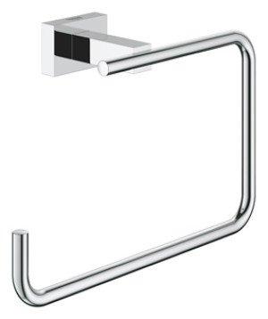 Grohe Essentials Cube handdoekring  chroom - 40510001