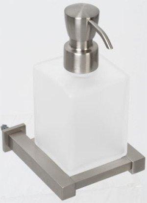 Plieger Cube zeepdispenser inox - 4784185