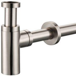 Plieger designbekersifon rond m. muurbuis 30cm - 520065