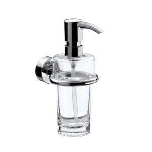 Emco Rondo 2 zeepdispenser m. kristal helder - 452100100
