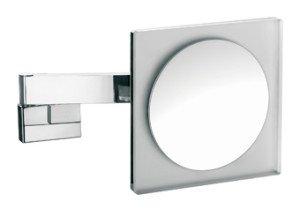Emco scheerspiegel m. LED-verlichting vierkant m. vaste aansluiting (factor 3) - 109600124