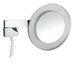 Emco scheerspiegel m. LED-verlichting m. snoer (factor 3) - 109600129