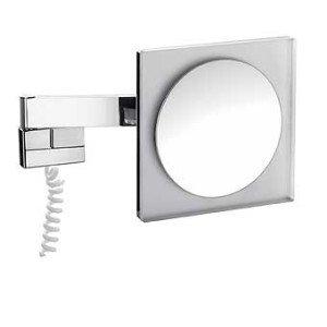 Emco scheerspiegel m. LED-verlichting m. snoer - 109600105