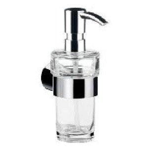 Emco Fino zeepdispenser m. helder kristalglas 130ml chroom - 842100102