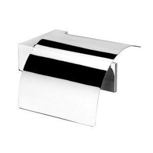 Geesa Modern Art closetrolhouder m. klep - 350802