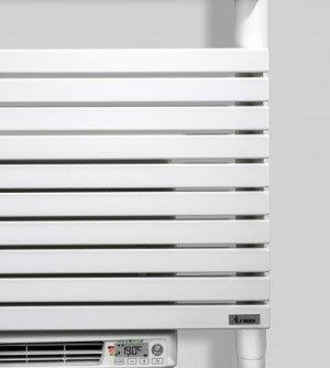 Vasco Carre CB-EL-BL designradiator elektrisch met blower 747x500mm, 500W wit (RAL9016) - 113190500074700009016-0000