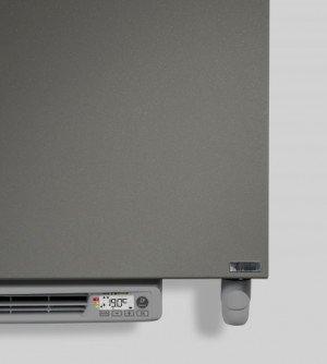 Vasco Niva N1L1-EL-B designradiator elektrisch met blower 745x520mm, 500W wit (RAL9016) - 113200520074500009016-0000