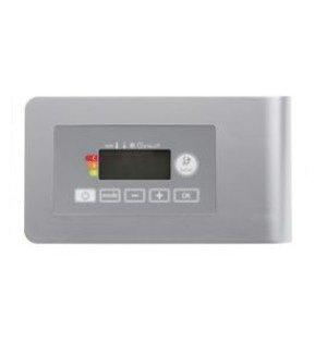 Vasco E-Volve E-V regeling zonder thermostaat voor verwarmingselement 230V 230V, kabellengte=0.8m grijs (RAL9006) - 118400500009006-0000