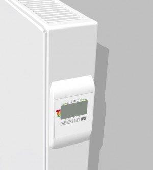 Vasco E-panel EP-H-FL designradiator elektrisch vlak horizontaal 600x500mm, 500W wit (RAL9016) - 113390500060000009016-0000
