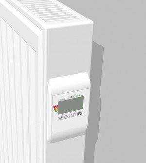 Vasco E-panel EP-H-RIB designradiator elektrisch geribt horizontaal 600x500mm, 500W wit (RAL9016) - 113400500060000009016-0000