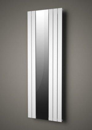 Plieger Cavallino Specchio designradiator verticaal met spiegel middenaansluiting - 7253056