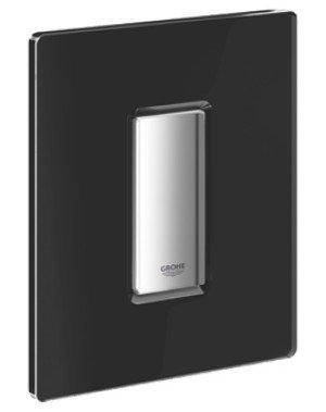 Grohe Skate Cosmopolitan urinoir bedieningsplaat glas zwart - 38846KS0