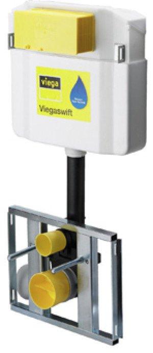 Viega Swift WC-module m. Visign 2H-UP inbouwreservoir - 655945