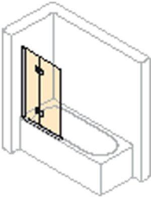Huppe 501 Design Pure bad draai-vouwdeur links - 175230087321