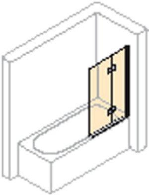 Huppe 501 Design Pure bad draai-vouwdeur rechts - 175240087321