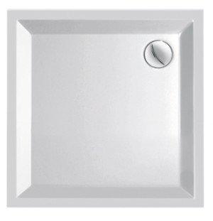 Plieger Kwadrant kunststof douchebak acryl vierkant 90x90x5cm - 941190