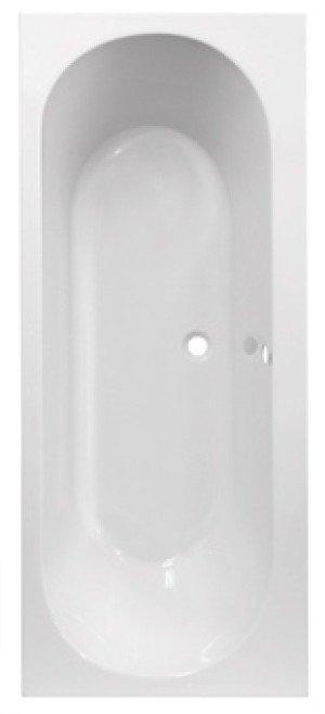 Plieger Wave kunststof bad acryl rechthoekig - 948280