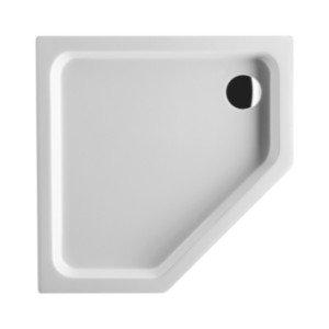 Villeroy en Boch Denia kunststof douchebak acryl vijfhoekig - UDA0906DEN5V01