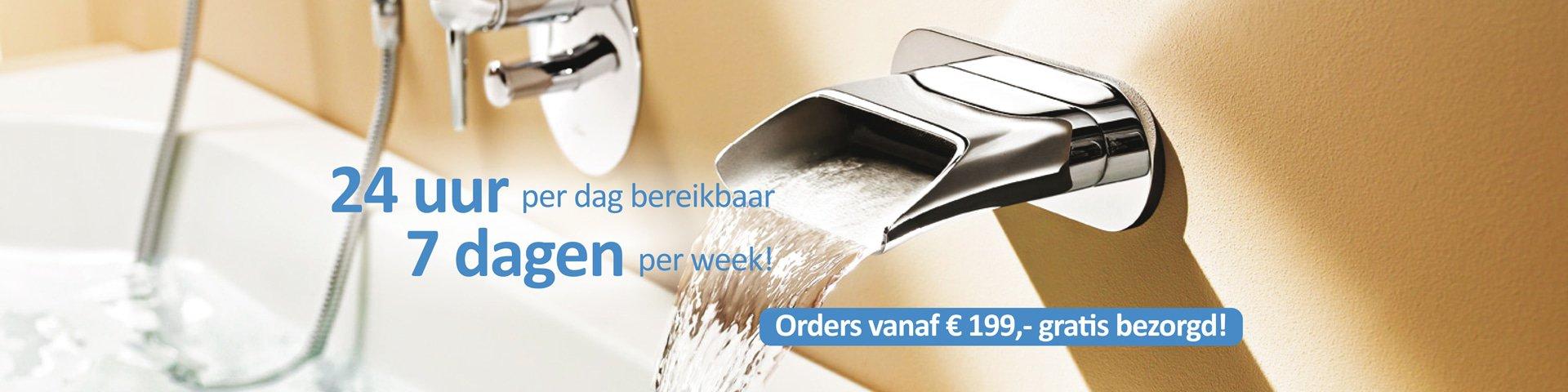 Orders vanaf € 199,- gratis bezorgd!